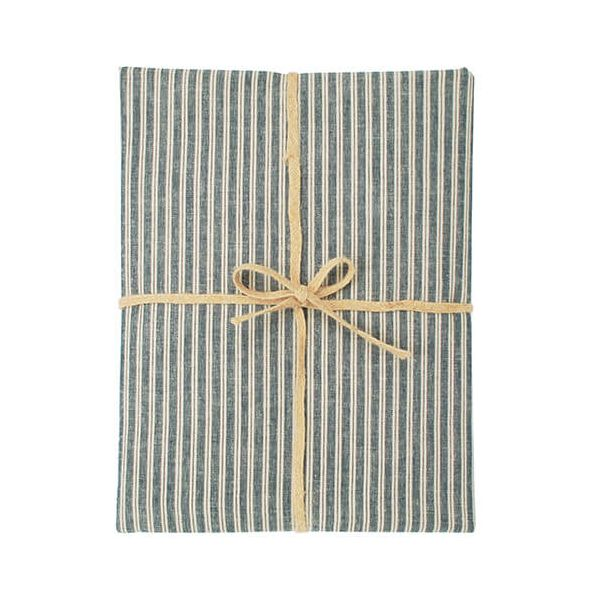 Walton & Co Hampton Stripe Tablecloth 130x230cm