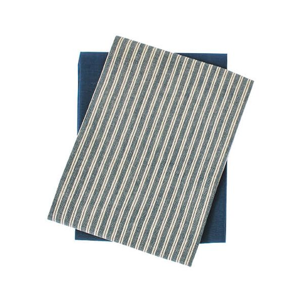 Walton & Co Hampton Stripe Tea Towel Set 2