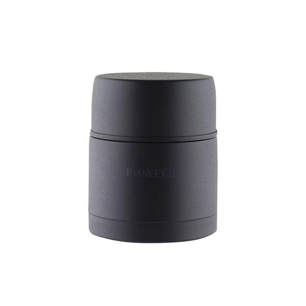 Pioneer Vacuum 0.5 Litre Stainless Steel Black Soup Flask
