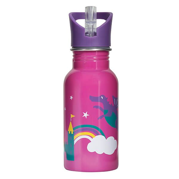 Frugi Organic Dragon Splish Splash Steel Bottle