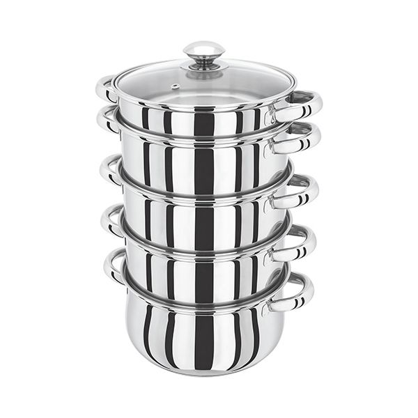 Judge Horwood Basics 20cm 5 Tier Steamer With Bain Marie