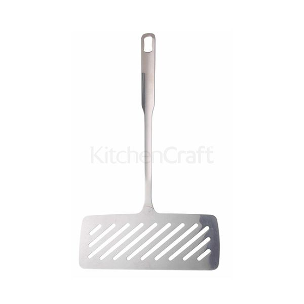 World Of Flavours Stainless Steel Fish Turner / Asparagus Lifter
