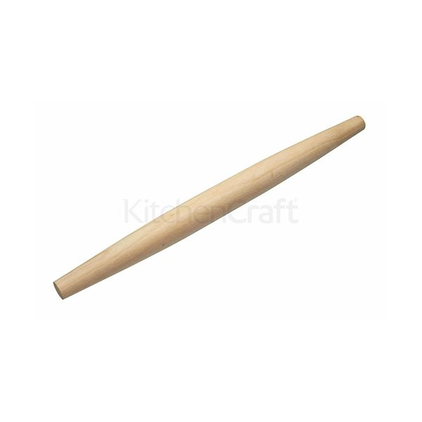 World of Flavours Italian Wooden Rolling Pin 50cm