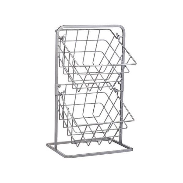 Industrial Kitchen 2 Tier Storage Baskets