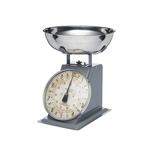 Industrial Kitchen Mechanical Kitchen Scale 10kg Grey