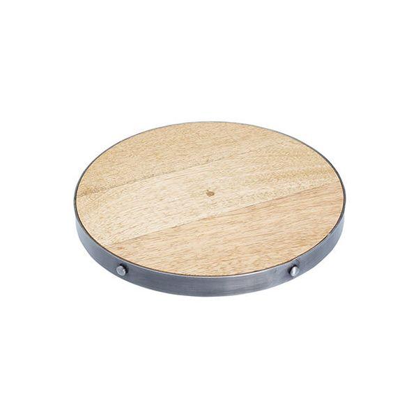 Industrial Kitchen Mango Wood 20cm Trivet