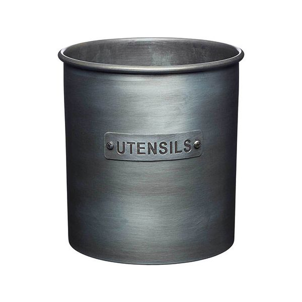 Industrial Kitchen Utensil Holder