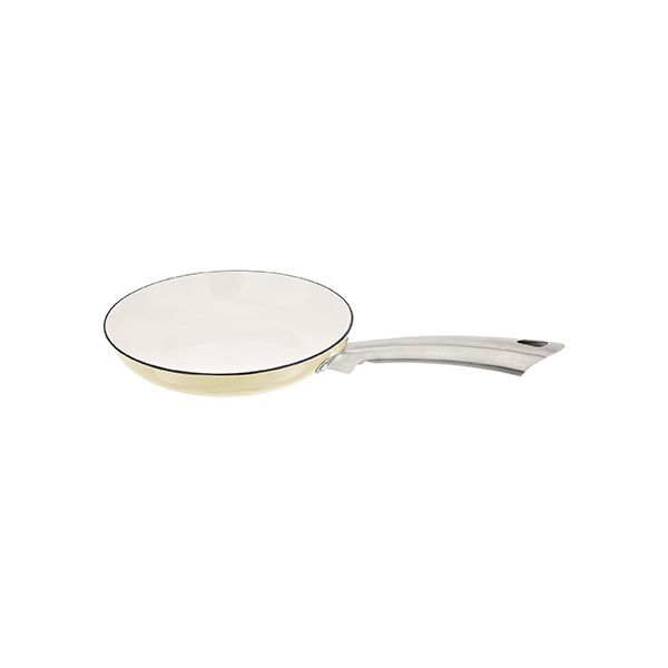 Stellar Easy Lift Cast Iron 24cm Frypan Cream