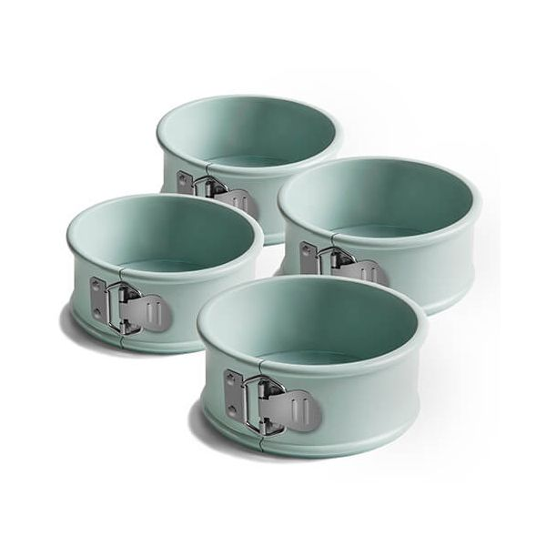 "Jamie Oliver 4"" Round Cake Tin, Springform, Set Of 4"