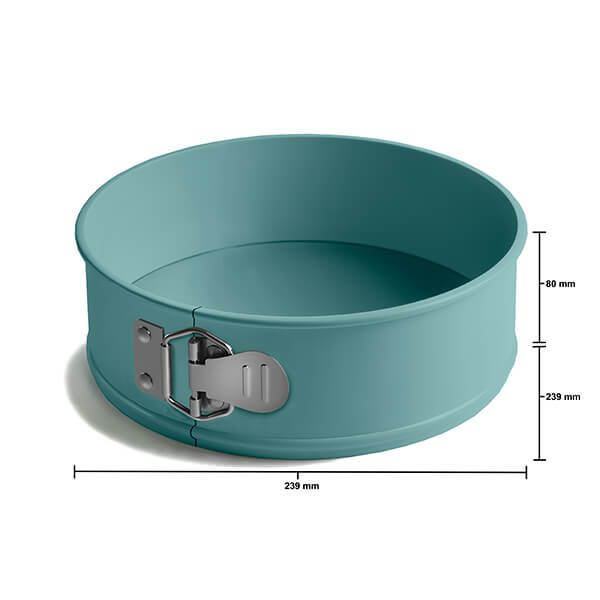 Jamie Oliver Atlantic Green 9in/23cm Springform Non-Stick Cake Tin