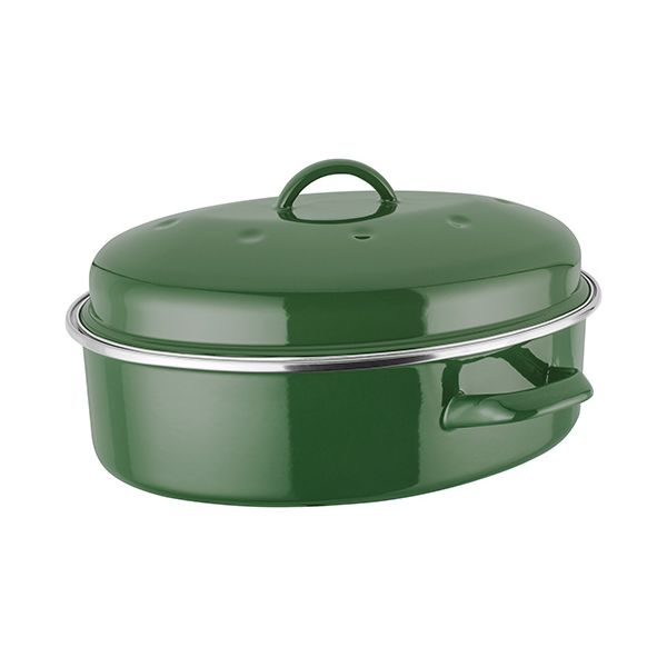Judge Induction Green Oval Roaster