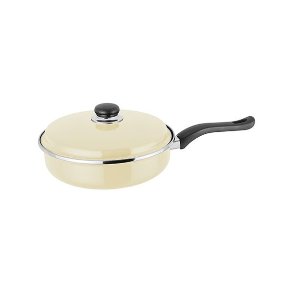 Judge Induction Vanilla 24cm Saute Pan