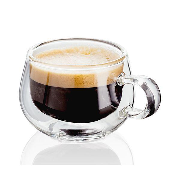 Judge Double Walled 75ml Espresso Glass Set Of 2 JDG25