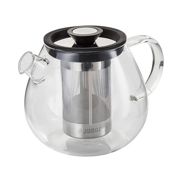 Judge Brew Control Glass Teapot