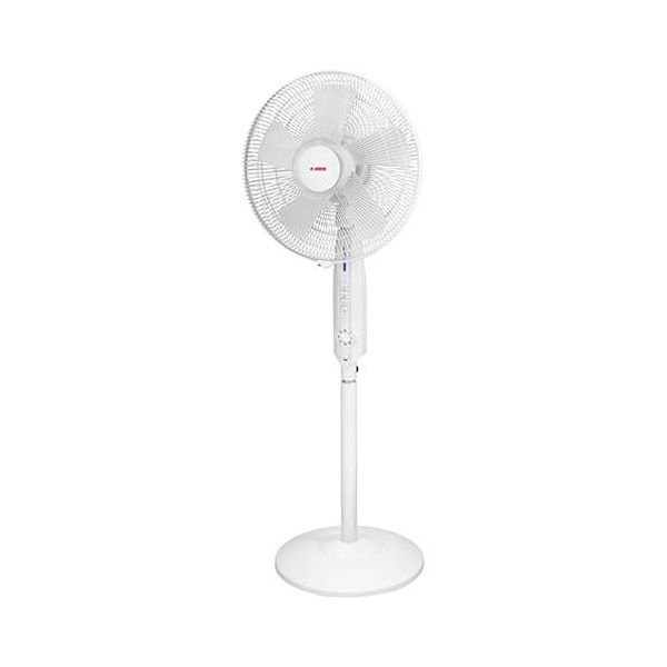 "Judge 3 Speed 16"" Pedestal Fan With 60 Minutes Countdown Timer"