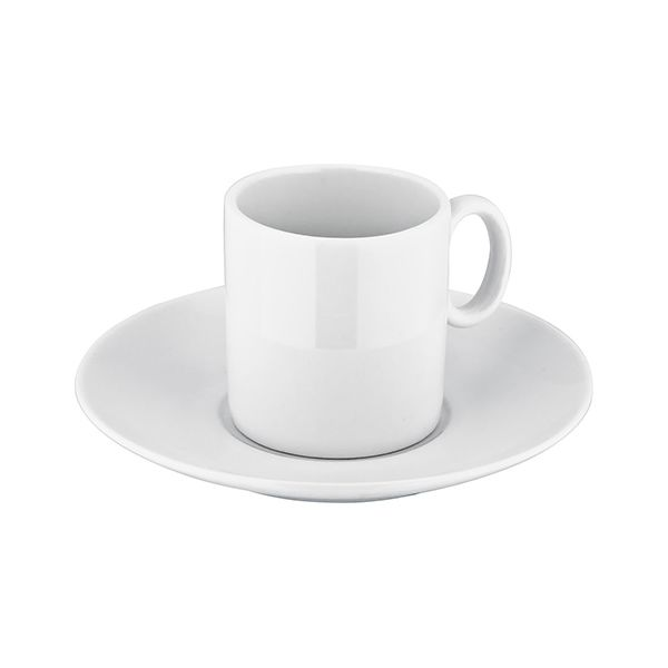 Judge Table Essentials White Espresso Cup & Saucer