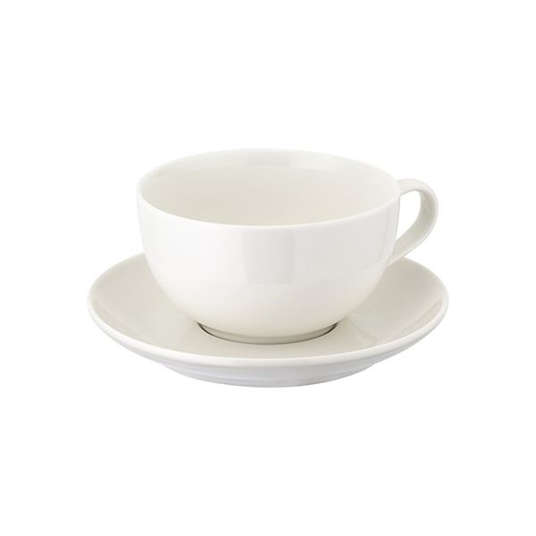 Judge Table Essentials Cappuccino Cup & Saucer, 330ml