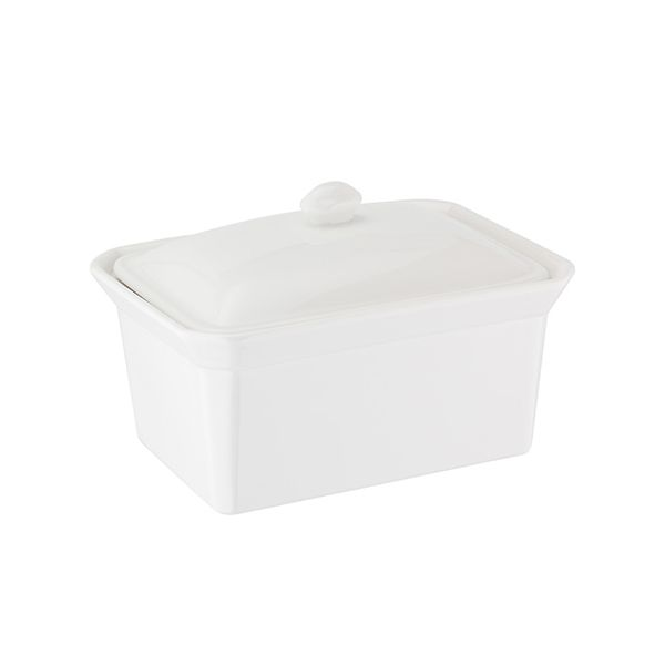 Judge Table Essentials Butter Dish, 1Ib