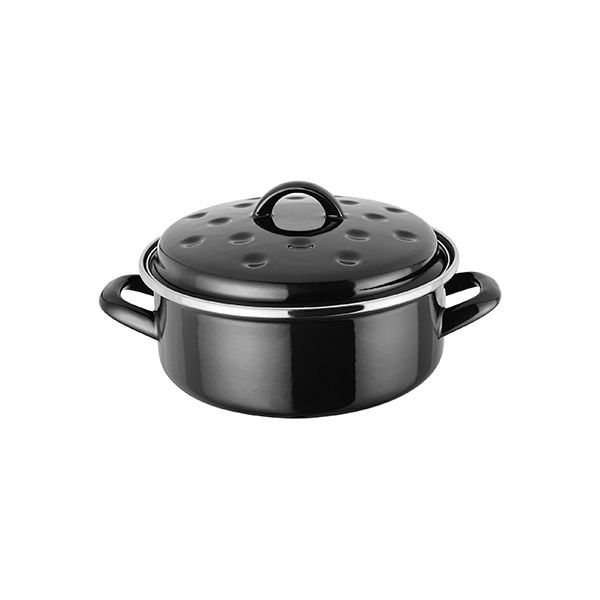 Judge Induction Black Round Roaster