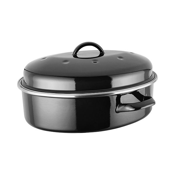 Judge Induction Black Oval Roaster