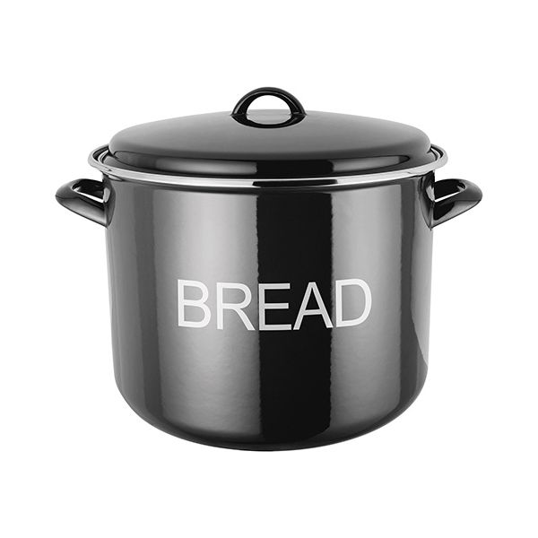 Judge Induction Black Bread Crock