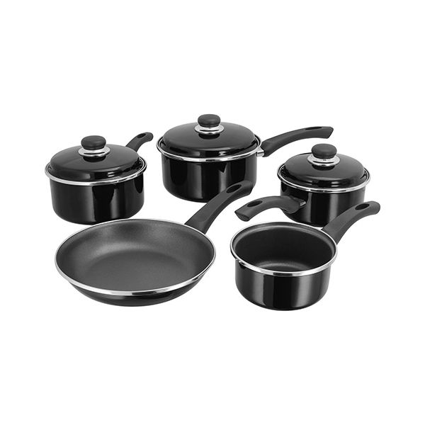 Judge Induction Black 5 Piece Set