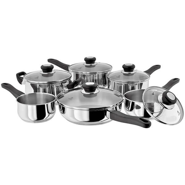 Judge Vista NEW 6 Piece Saucepan Set
