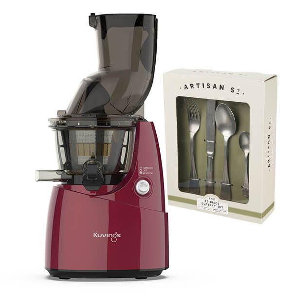 Kuvings B8200 Whole Slow Juicer Red with FREE Gift