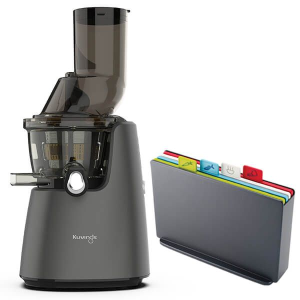 Kuvings C9500 Whole Slow Juicer Matt Gunmetal With Free Gift