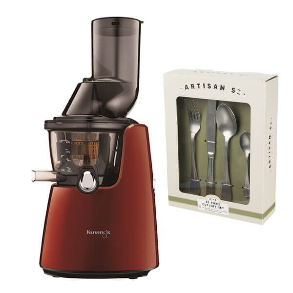 Kuvings C9500 Whole Slow Juicer Red with FREE Gift