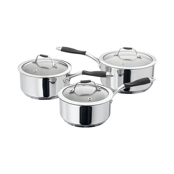 James Martin 3 Piece Saucepan Set