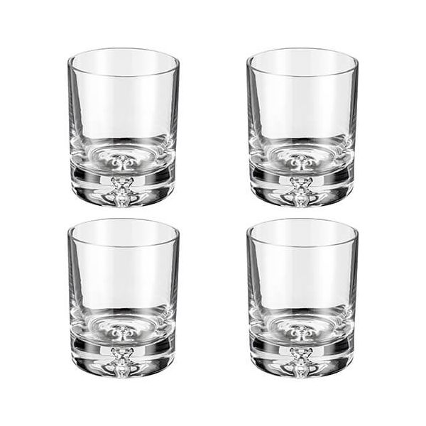 Judge Crystalline Set of 4 Bubble Tumblers 250ml