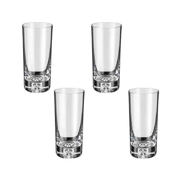 Judge Crystalline Set of 4 Bubble Tall Tumblers 300ml