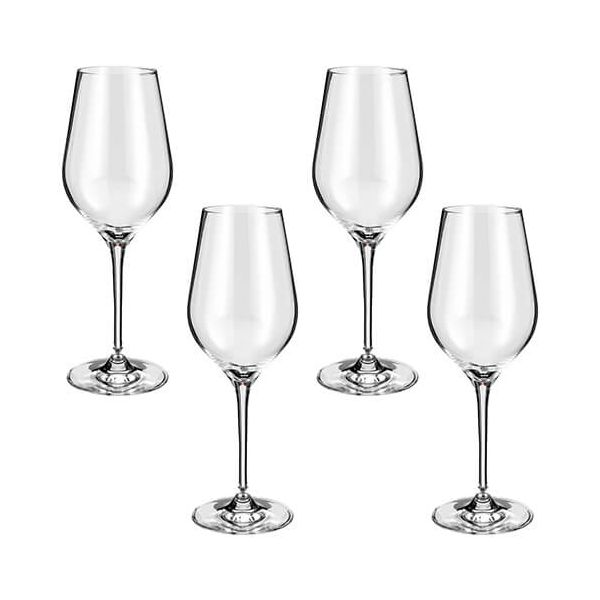 Judge Crystalline Set of 4 White Wine Glasses 200ml