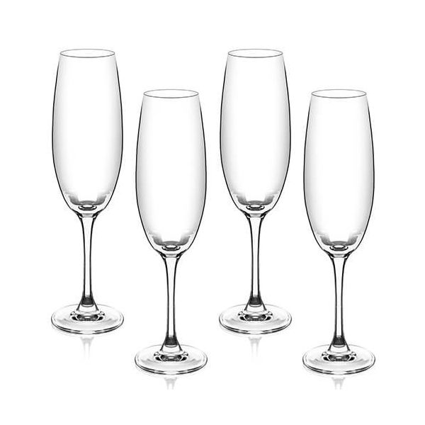 Judge Crystalline Set of 4 Champagne Flutes 200ml