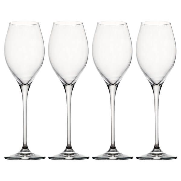 Judge Crystalline Glassware Set Of 4 Prosecco Flutes 250ml