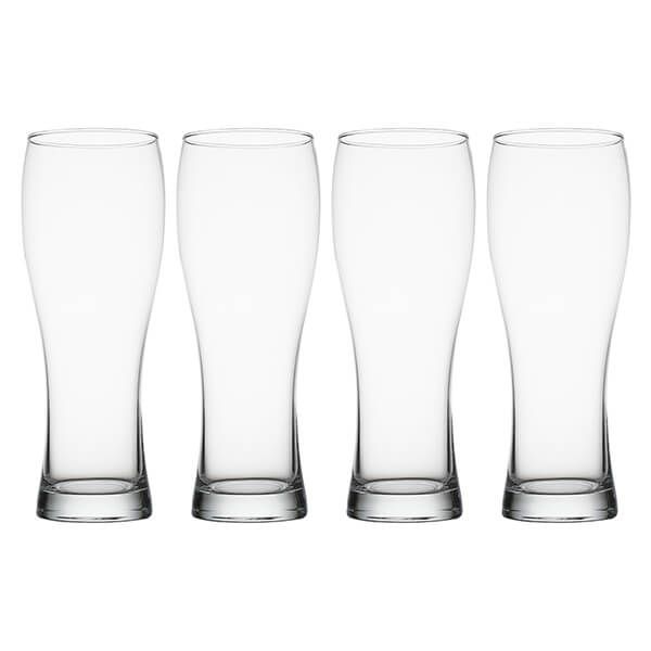 Judge Crystalline Set of 4 Beer Glasses