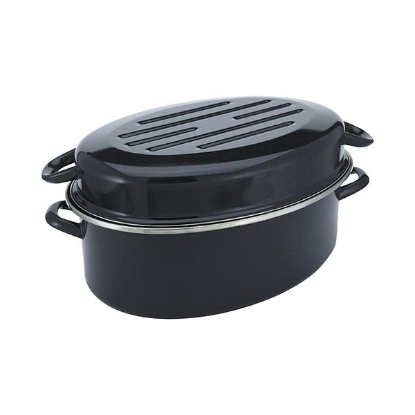Judge Induction Granite 38cm High Oval Roaster