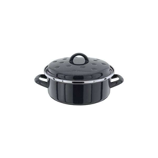 Judge Induction Granite 24cm Round Roaster