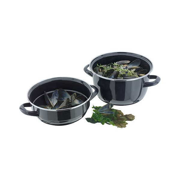 Judge Induction Granite 18cm Mussel Pot