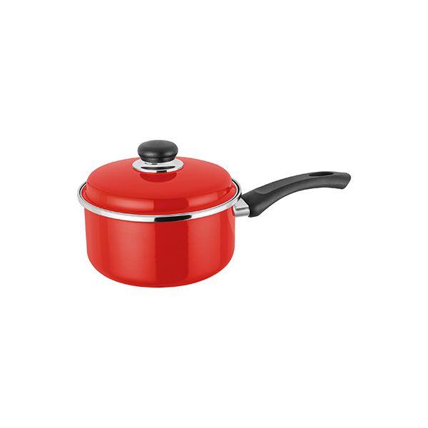 Judge Induction Red 18cm Saucepan
