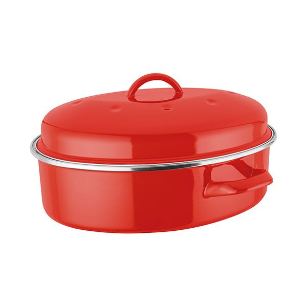 Judge Induction Red Oval Roaster