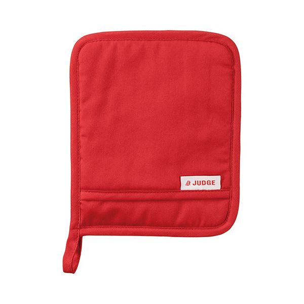 Judge Textiles Pot Holder, Red