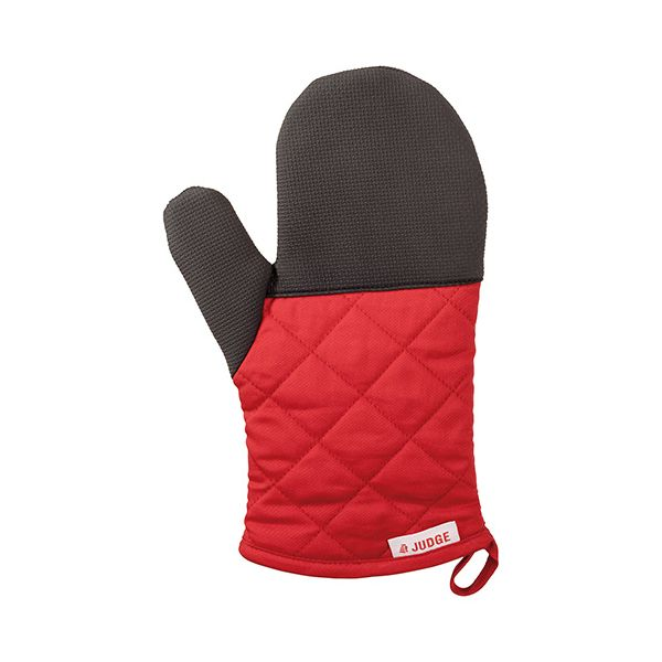 Judge Textiles Traditional Oven Mitt, Red