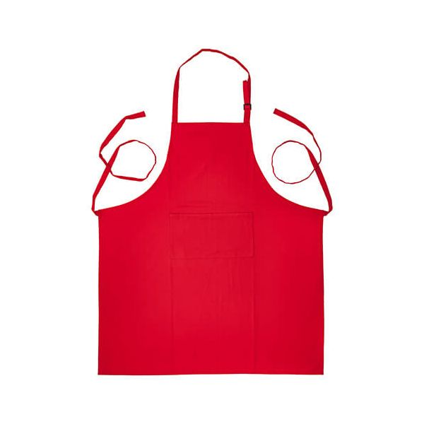 Judge Textiles Apron, Red