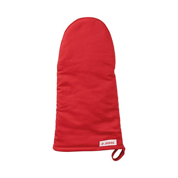 Judge Textiles Oven Mitt, Red