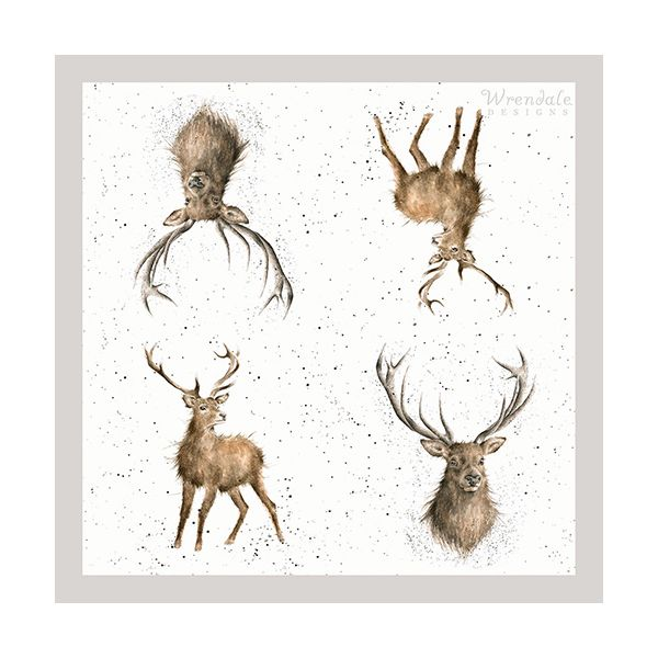 Wrendale Designs Wild At Heart Pack Of 20 Napkins