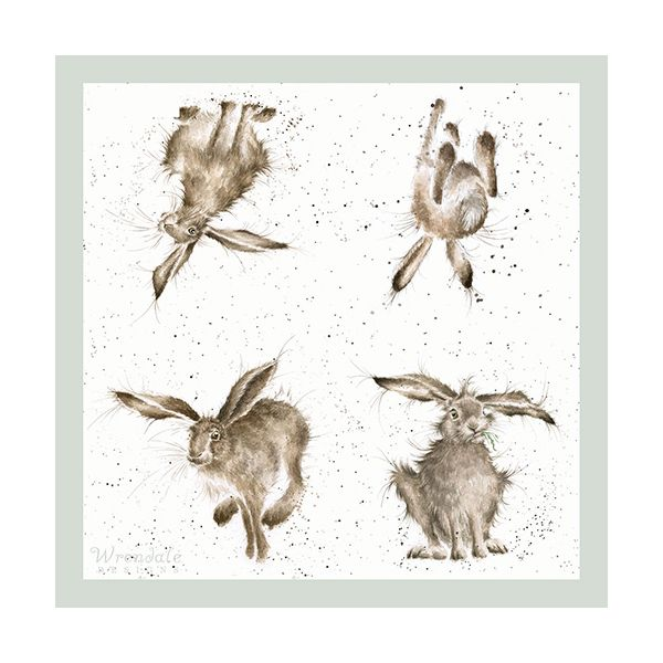 Wrendale Designs Hare-Brained Pack Of 20 Napkins