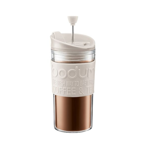 Bodum Travel Press Set Off White