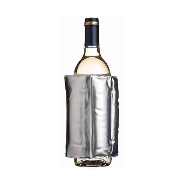 BarCraft Wrap Around Silver Wine Cooler